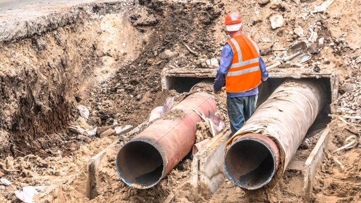 В Самаре ремонт труб завершат к середине ноября