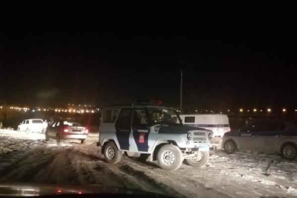 Погоня за пьяным нарушителем развернулась недалеко от берега Заводского пруда в Магнитогорске в ноябре прошлого года