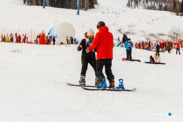 Горнолыжный сезон в Шерегеше начался 14 ноября
