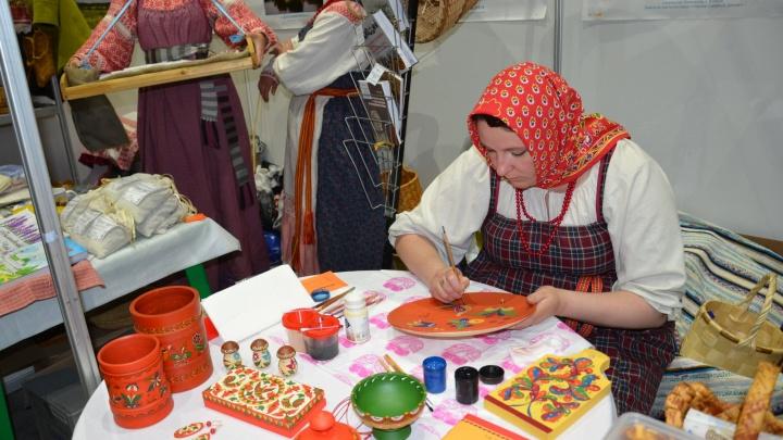 Собери ушат, сделай уледочки: какие мастер-классы покажут жителям Архангельска на Маргаритинке