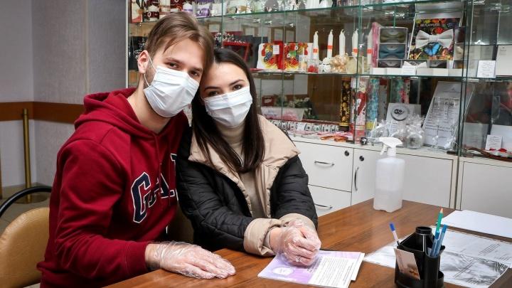 Любовь во время чумы. Как нижегородские парочки женятся во время пандемии COVID-19