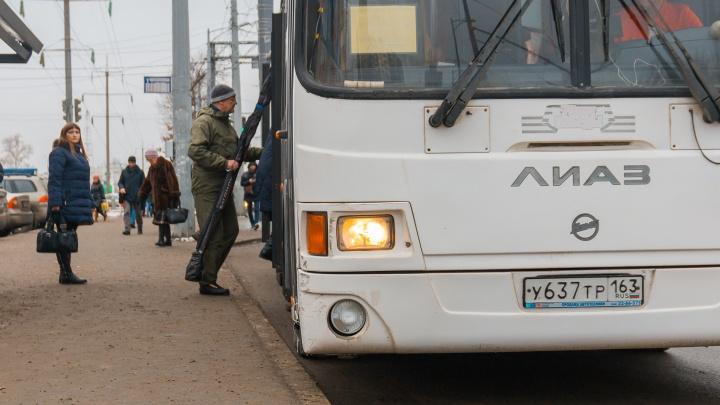 В Самаре планируют уменьшить число дачных автобусов