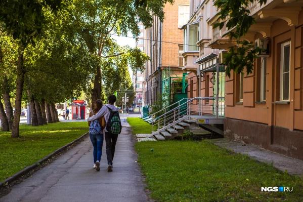 В ближайшие дни в Новосибирске будет тепло