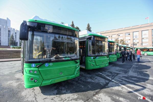 До конца года для Челябинска закупят 34 новых автобуса