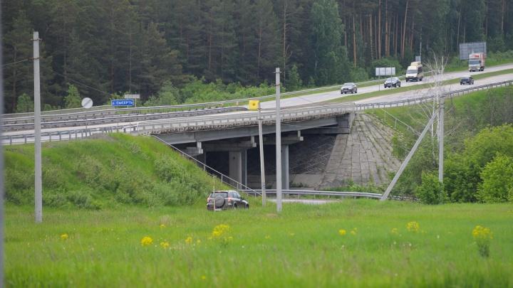 На Челябинском тракте из-за ремонта моста до осени будет действовать режим реверсивного движения