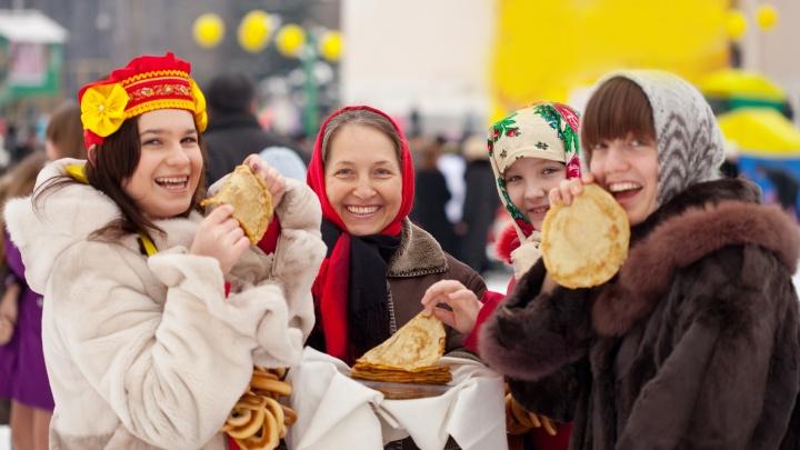 Русские забавы с «Русским Радио»: екатеринбуржцев пригласили на празднование Масленицы у ТРЦ «Мега»
