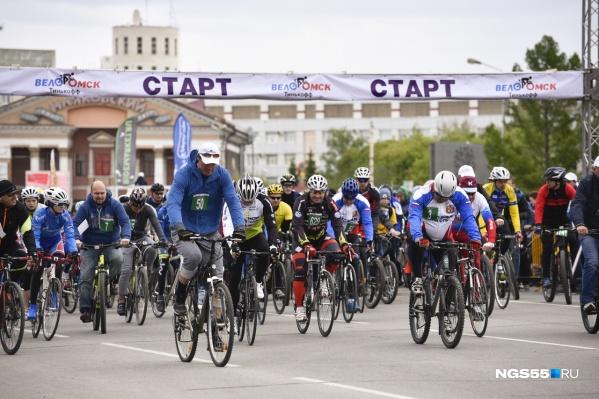 В этом году велогонки перенесли на сентябрь