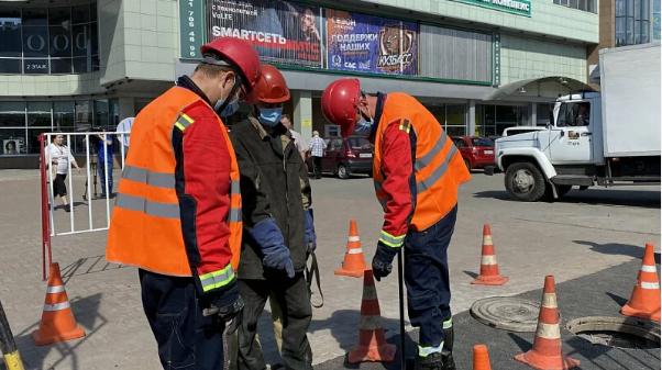 Крупный кемеровский торговый центр отключили от теплоснабжения за долги