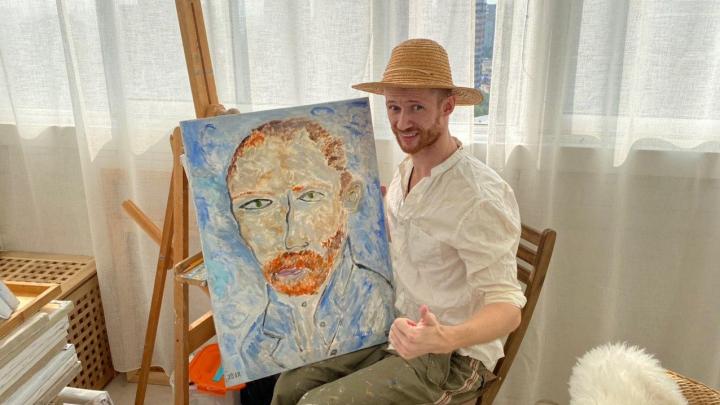 Красноярский Ван Гог: художник-спортсмен рассказал, как после трех недель в коме стать чемпионом мира