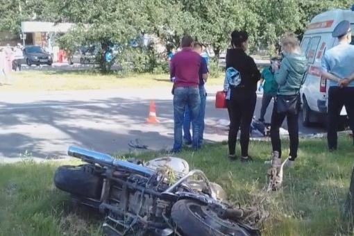 Очевидцем страшной аварии на ЖБИ, в которой погиб мотоциклист, стал ребенок