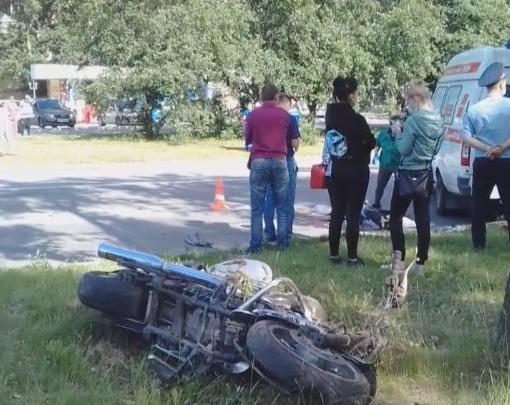 «Мотоциклист ехал без шлема»: очевидцы — о смертельном ДТП на ЖБИ