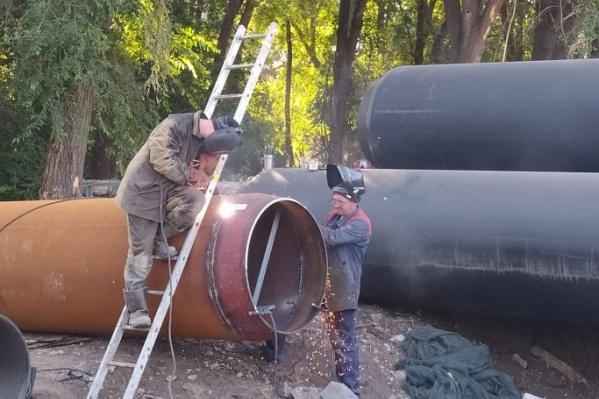 До конца года в городе обновят 20 километров труб