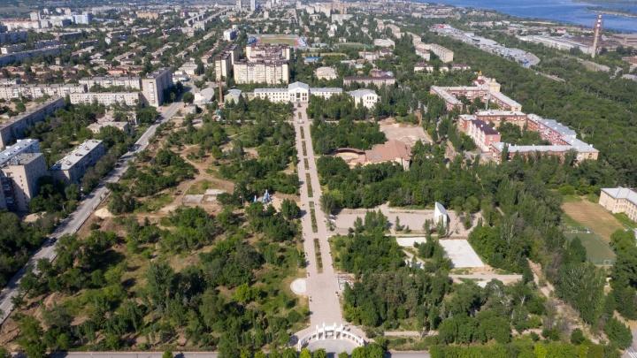 Розы, сварка и металл: смотрим на продолжение реконструкции парка Гагарина