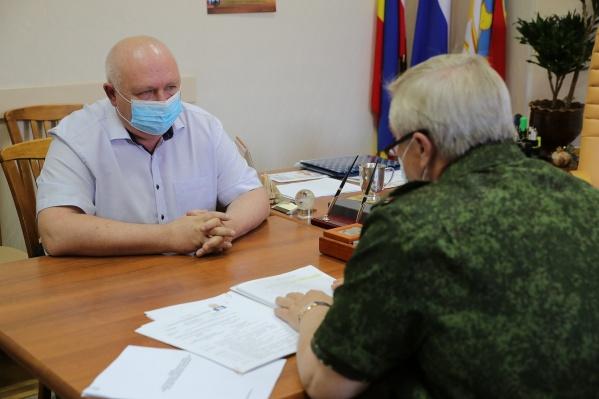 Сегодня, 7 сентября, губернатор без предупреждения приехал в Каменск-Шахтинский