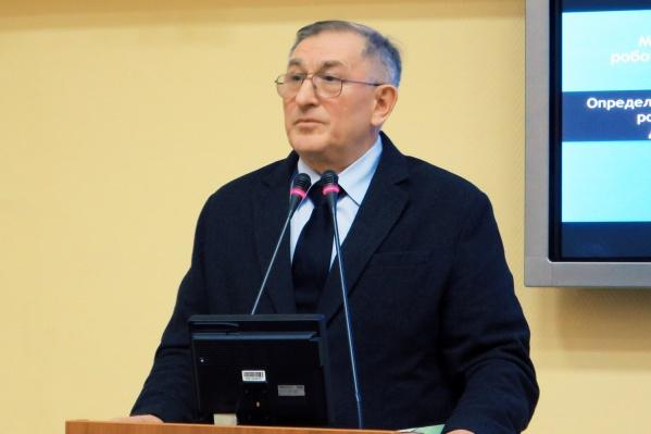 Выпускник ЮУрГУГеннадий Викторович Саврасов