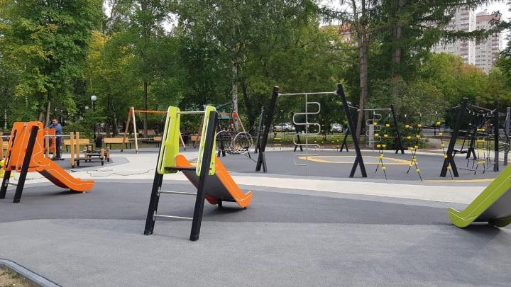 В Центральном парке построили модный детский городок. Показываем, что там есть