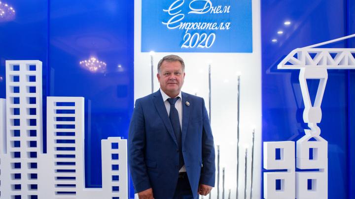 Директор по строительству ГК «ЮгСтройИнвест» награжден званием «Заслуженный строитель России»