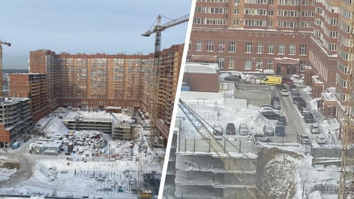 Из окна 19-го этажа в Новосибирске выпал 14-летний подросток