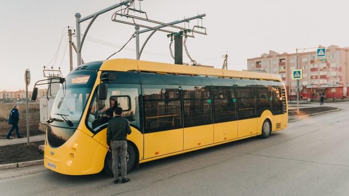 В Самаре вновь выпустили на маршрут электробус