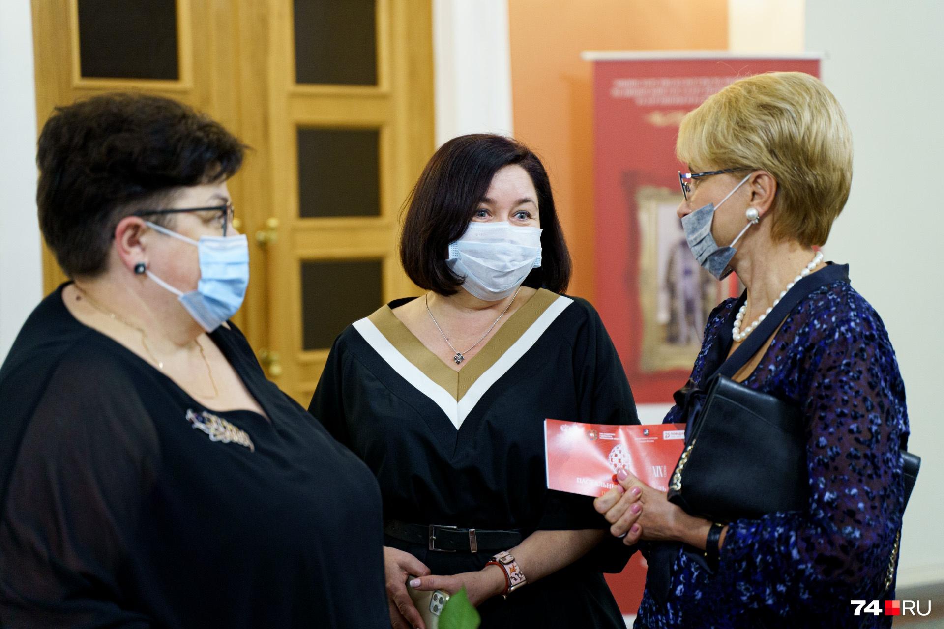 Глава Челябинского горздрава Наталья Горлова тоже не пропустила событие