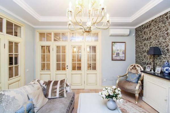 Ремонт в квартире выполнен по дизайн-проекту