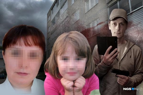 Мужчиназарезал двух сестер восьми и тринадцати лет и бросился в бега