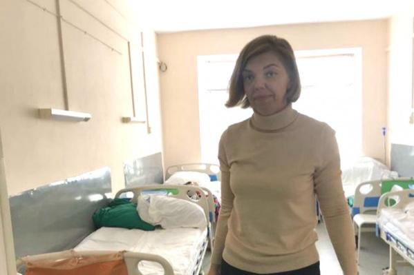 Анну Щукину выписали из больницы