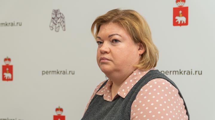 Министр здравоохранения Прикамья Оксана Мелехова ушла на больничный с пневмонией
