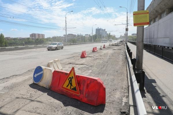 Мост на ремонте уже 10 дней