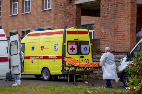 В Ярославской области растет количество больных и умерших от коронавируса