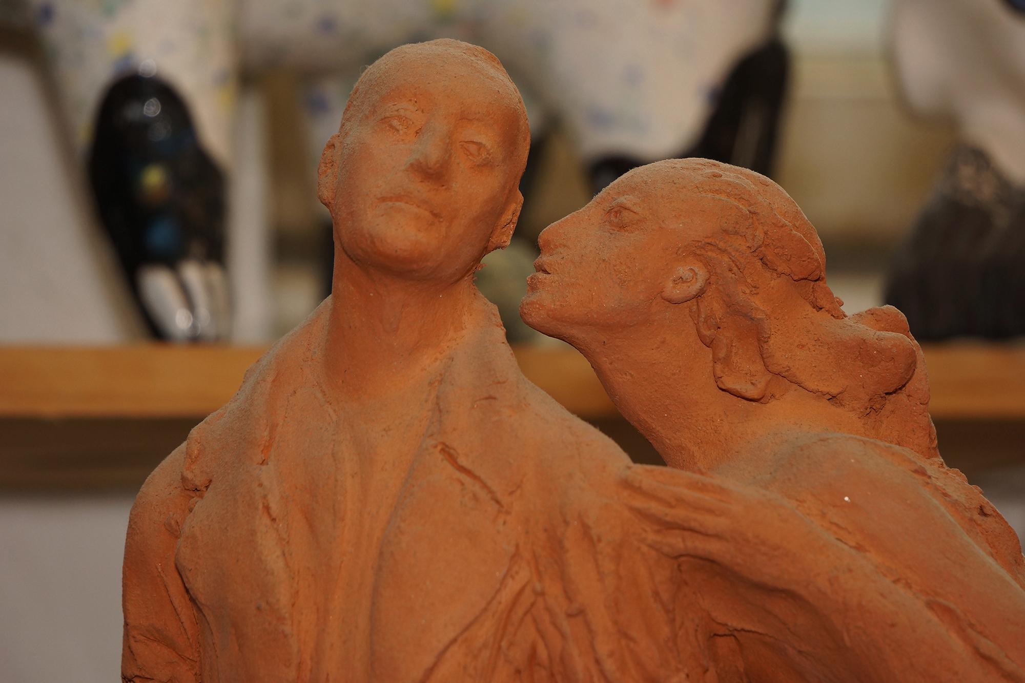 Мастерская скульптора, фото:Алексей Рожнов