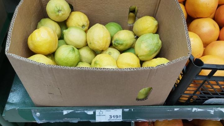 В Башкирии ФАС пообещала наказать тех, кто завышает цены на лимоны