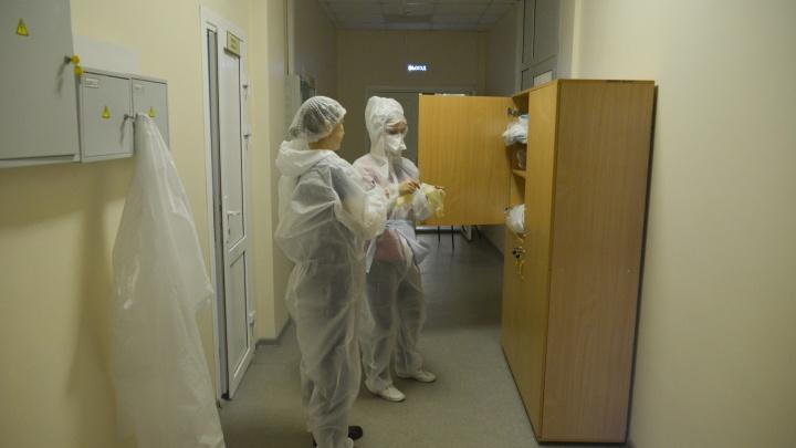 В Архангельской области 55 человек с коронавирусом находятся в тяжелом состоянии