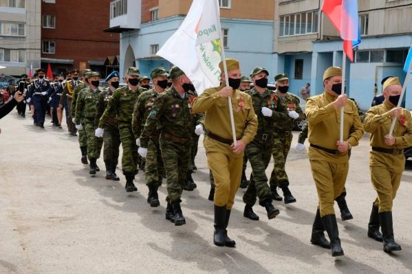 Вот такие шествия прошли в семи дворах в Уфе и в 149 — по республике