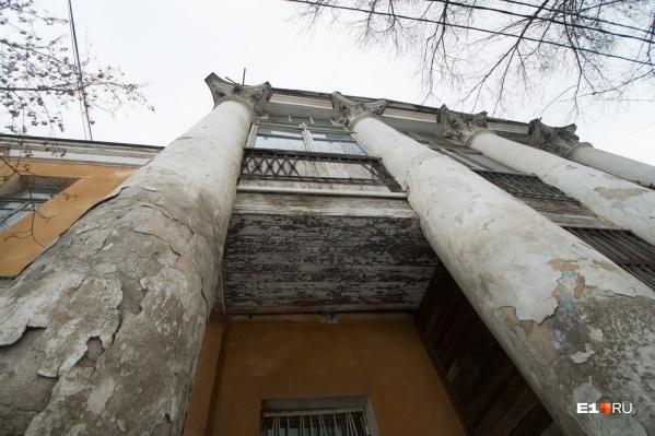 Сейчас усадьба Рязановых смотрится весьма неприглядно