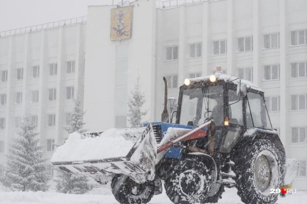 «Плесецкое дорожное управление» убирало Архангельск с 2018 года