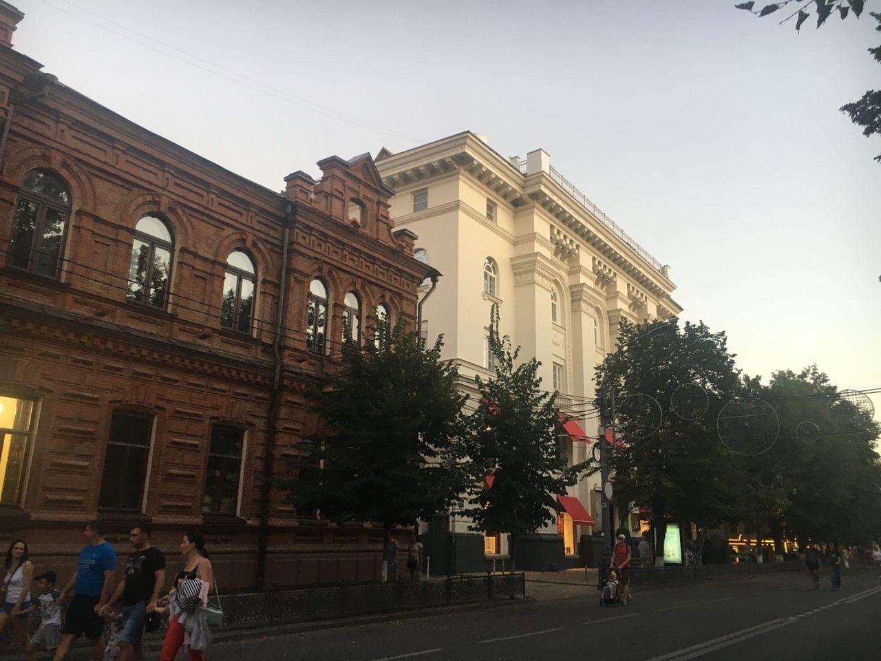 Аналог нашей Кировки — улица Красная
