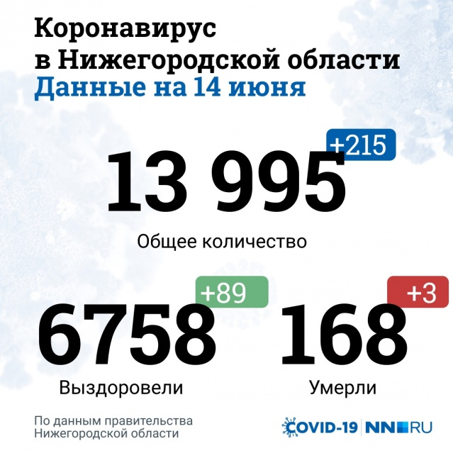 о коронавирусе в Нижегородской области
