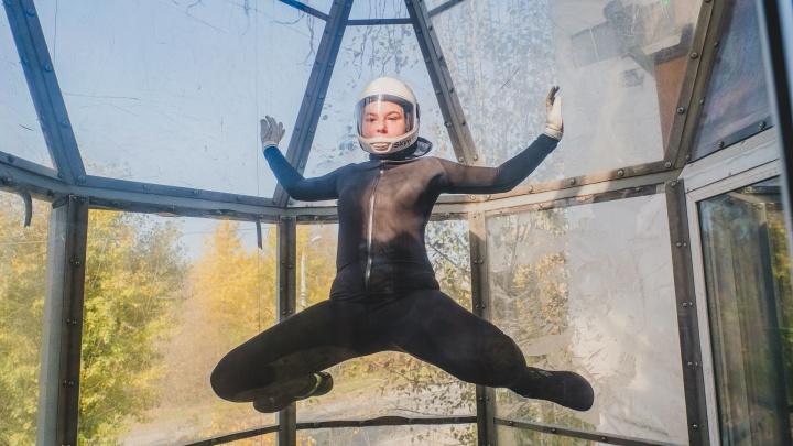 «Мой космонавт»: юная пермячка победила рак и выступает на чемпионатах по полетам в аэротрубе