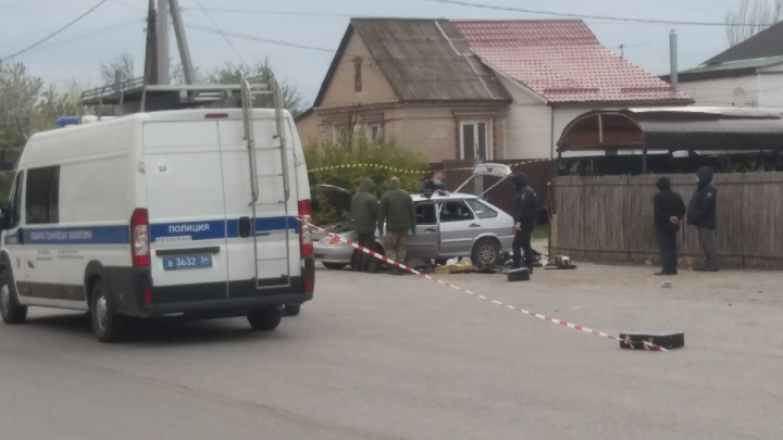 Ранен полковник МВД в отставке: в Волгограде на улице Хорошева прогремел взрыв