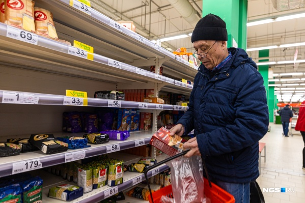 Из круп новосибирцы чаще всего берут гречку