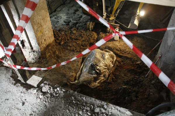 Останки обнаружили при реконструкции подвального помещения Спасской церкви