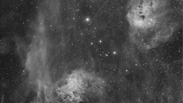 Новосибирец сфотографировал туманности созвездия Возничий — полюбуйтесь космической красотой