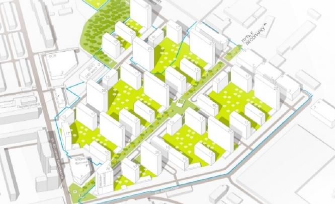 Мэрия разрешила застроить многоэтажками территорию завода на ЖБИ