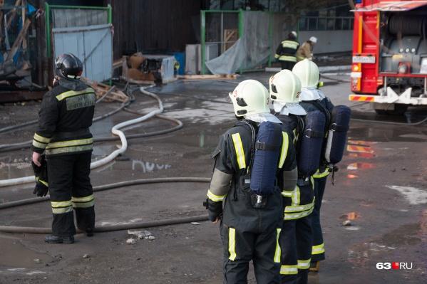 За это лето МЧС потушило два крупных пожара в Запанском