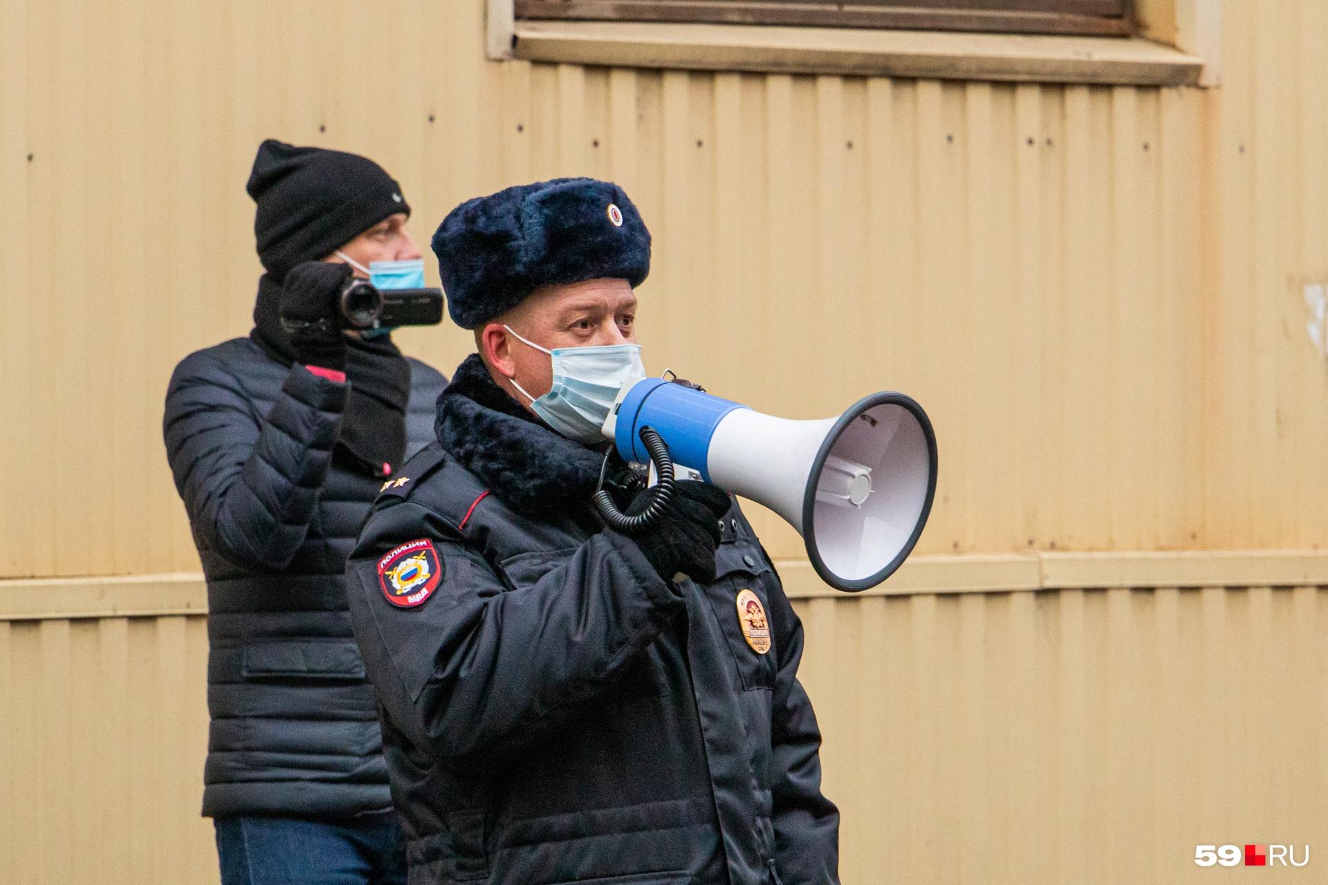Полицейские предупредили о необходимости соблюдать дистанцию