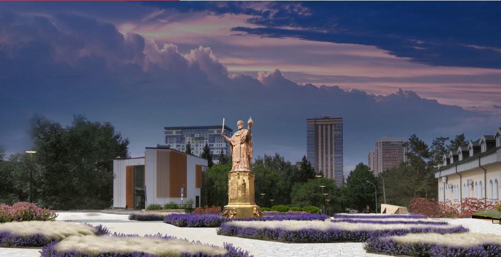 Между цирком и собором появится памятник Святому Николаю высотой в 6 метров