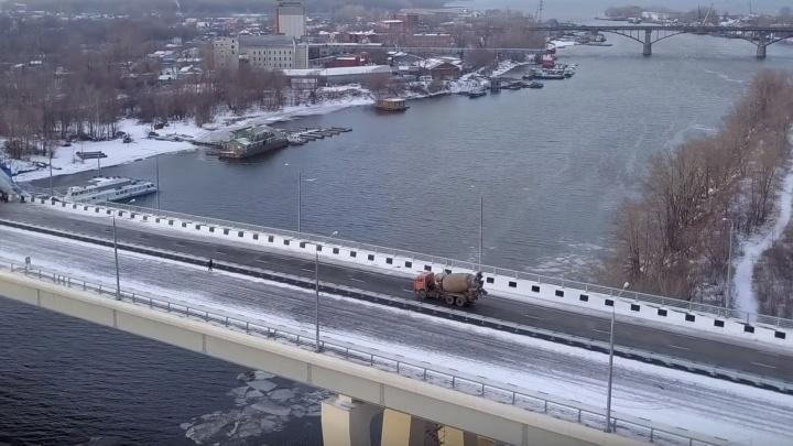 Самарский (Фрунзенский) мост подключат к умной системе управления дорожным движением