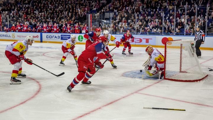 «Локомотив» третий раз подряд проиграл финнам в серии плей-офф