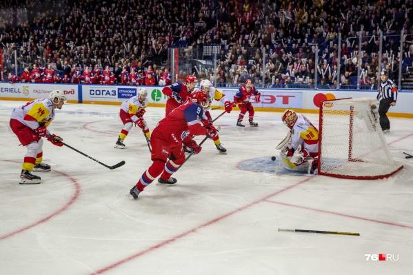 Ярославцы третий раз подряд проиграли финнам